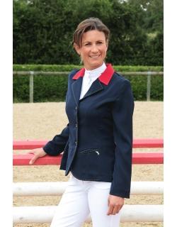 veste de concours marine col rouge Pénélope store