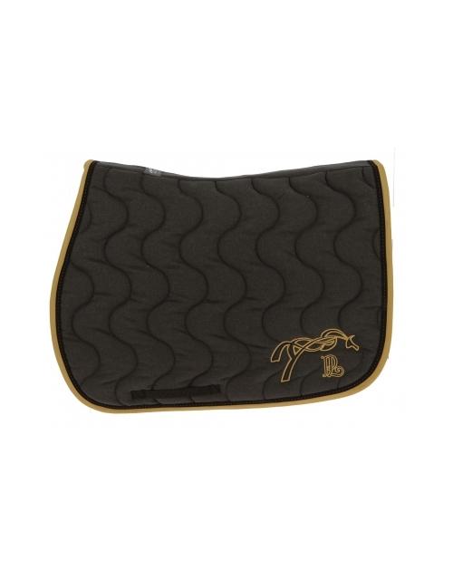 Point Sellier Classic Saddle Pad - Grey & Caramel
