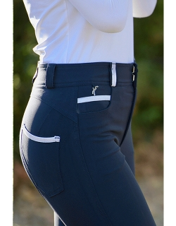 Pantalon d'équitation marine Pénélope Store