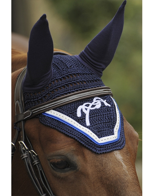 Bonnet Point Sellier - Marine & bleu roi Pénélope-Store