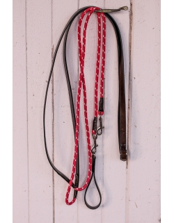 Draw Reins - Leather & Rope