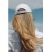 casquette d'équitation Pénélope blanche