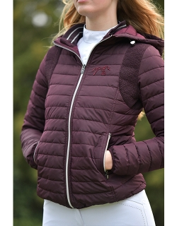 Molly Down Jacket - Plum