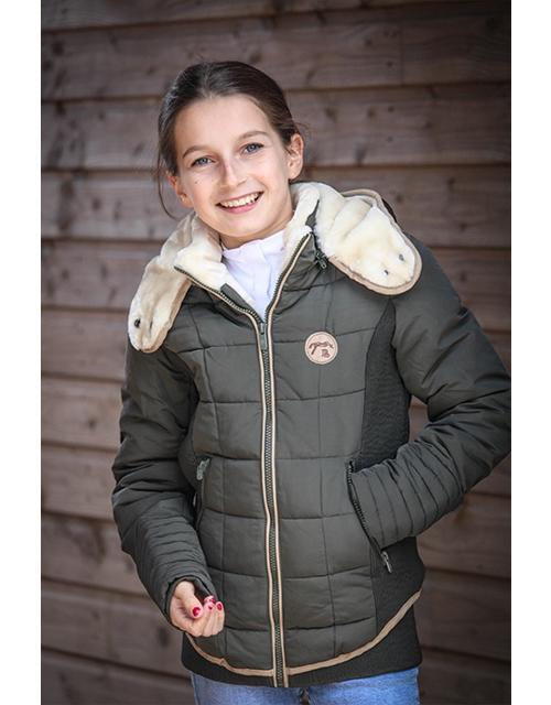 Beaumont Winter Jacket Khaki - Junior