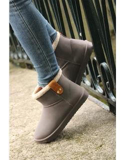 Boots Fourrées - Chocolat