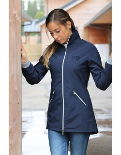 Fuji Long jacket - Navy