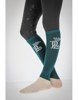 Riding Socks - Peacock Blue