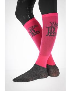 Riding Socks - Fuchsia