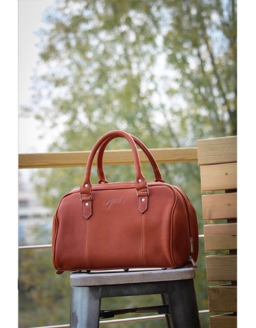 Little Étretat bag - Brandy