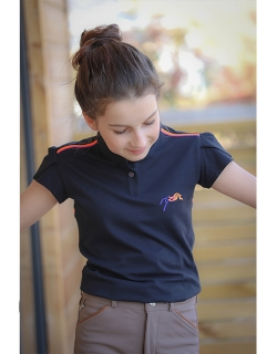 Junior LollyPolo - Navy blue
