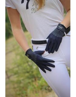 Riding Gloves skinny - Navy