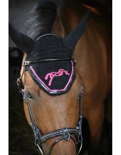 Saddler Stitch Fly Mask -...