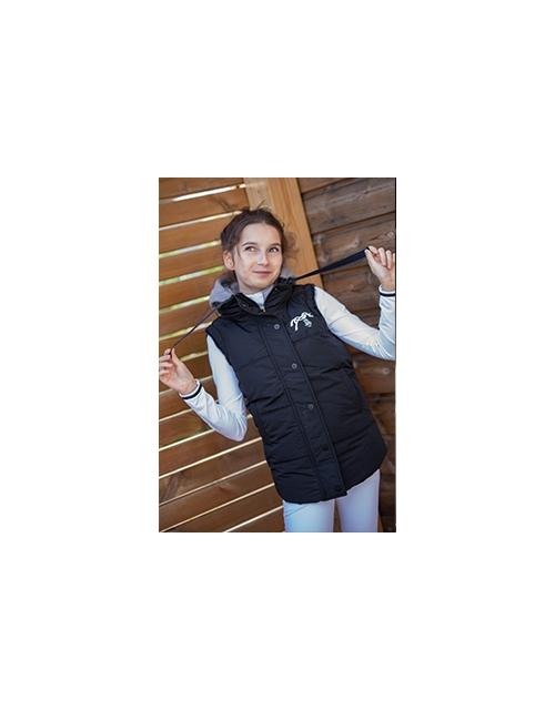 Young Roge black glitter vest - junior