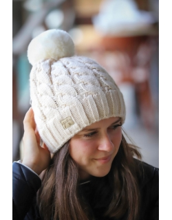 Treki Knitted hat - Cream