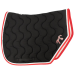 Point Sellier Sport Saddle pad - Black & red