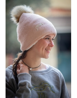 Waki knitted hat - Pink