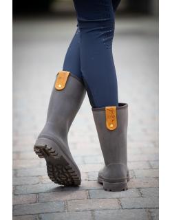 Boots de pluie Lola Marron Pénélope-store