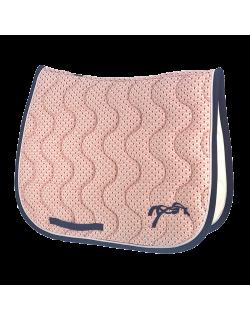 Art Deco classic saddle pad - Pink
