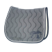 Point sellier classic saddle pad - Light grey & navy