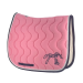 Point sellier classic saddle pad - Light pink & navy