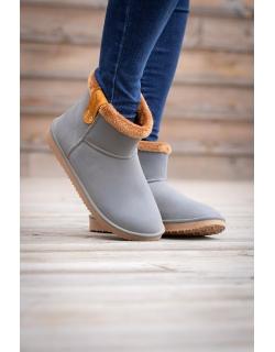 Pénélope boots Grey & brown - Pénélope Store