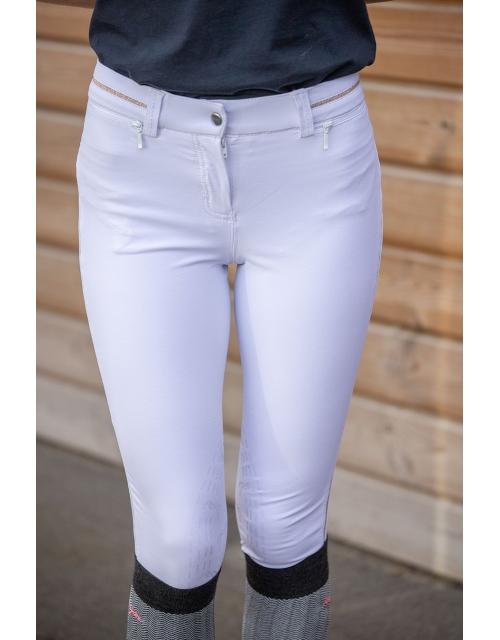 Streety Skinny white breeches - Junior